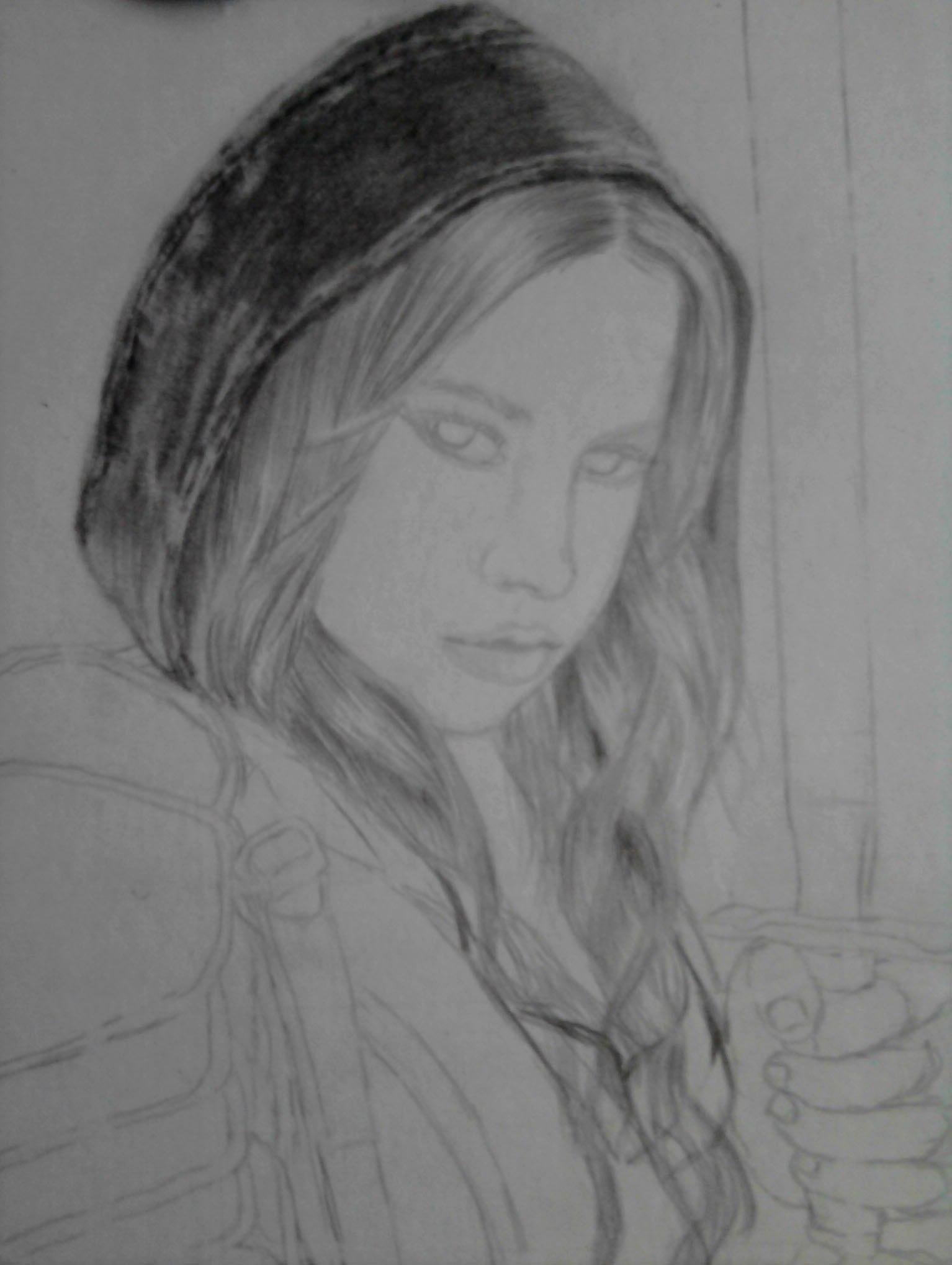 Рисуем Девушку-Воина