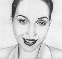 Как нарисовать Катю Клэп карандашом поэтапно