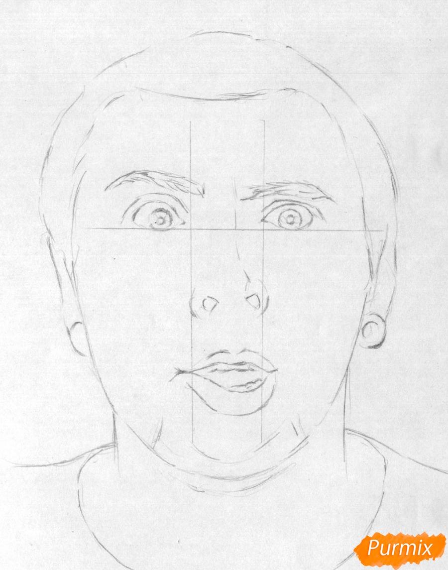 Рисуем портрет Макса из +100500 - шаг 1