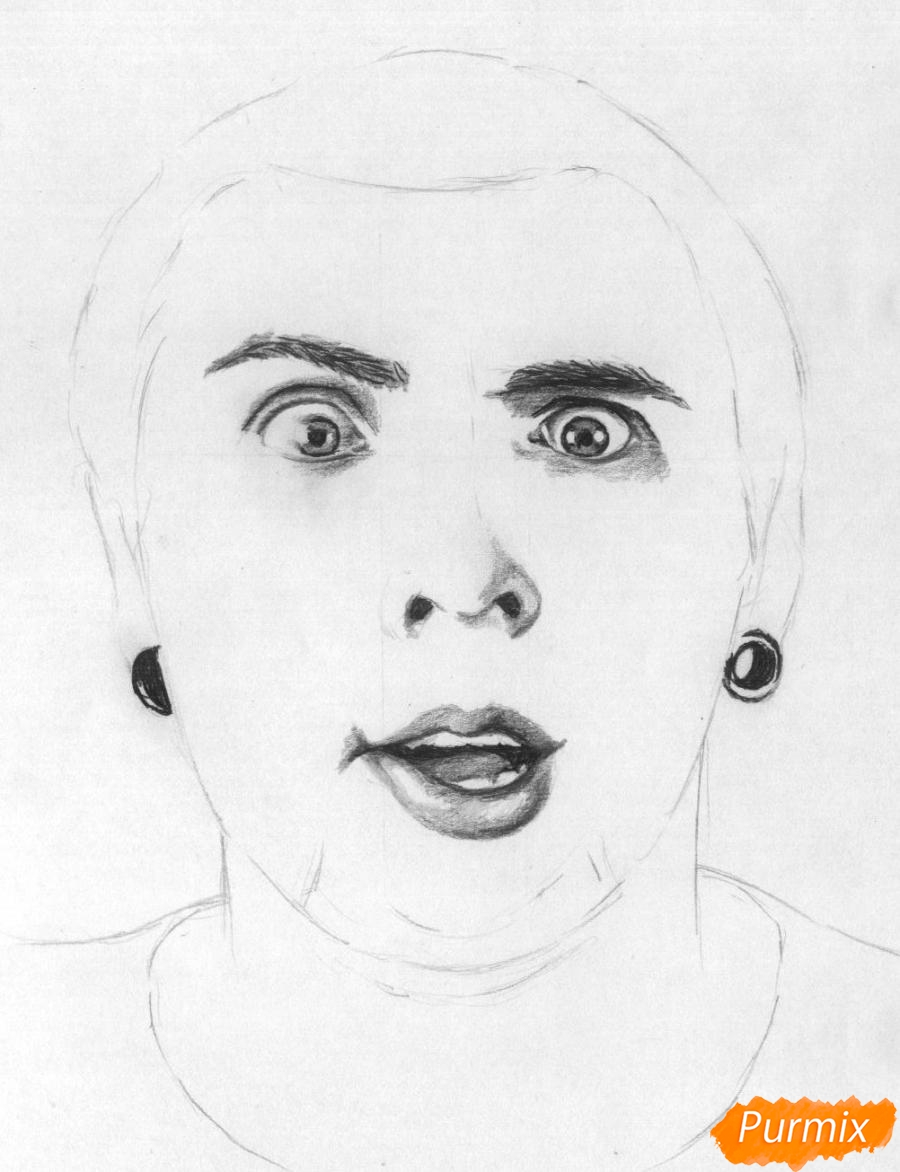Рисуем портрет Макса из +100500 - фото 3