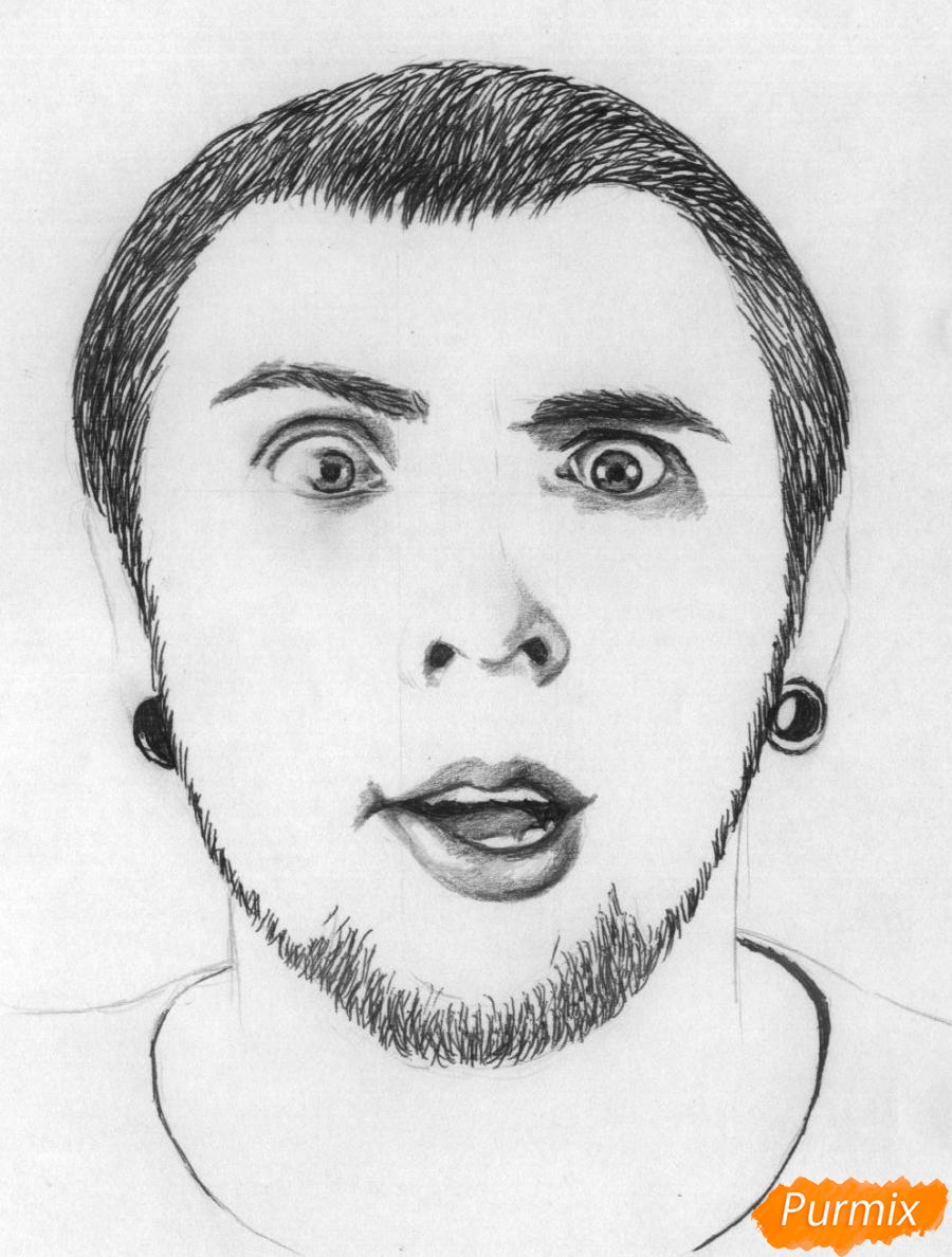 Рисуем портрет Макса из +100500 - фото 4
