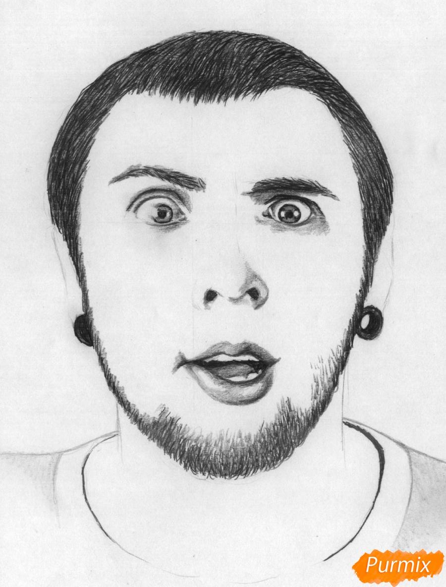 Рисуем портрет Макса из +100500 - шаг 5