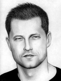 Рисунок портрет Тиль Швайгера