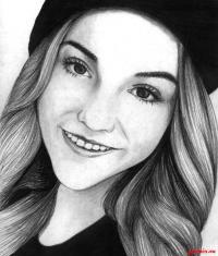 Как рисовать Марьяна Ро карандашом