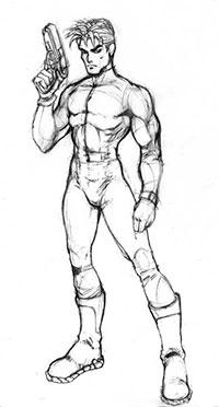 Как рисовать Мужское тело
