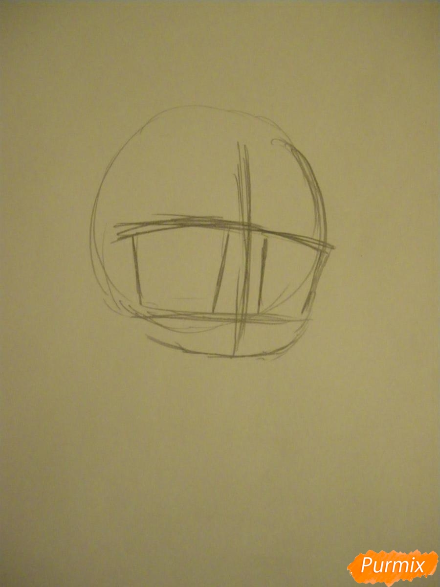 Рисуем чиби девочку неко с жёлтыми волосами - фото 1