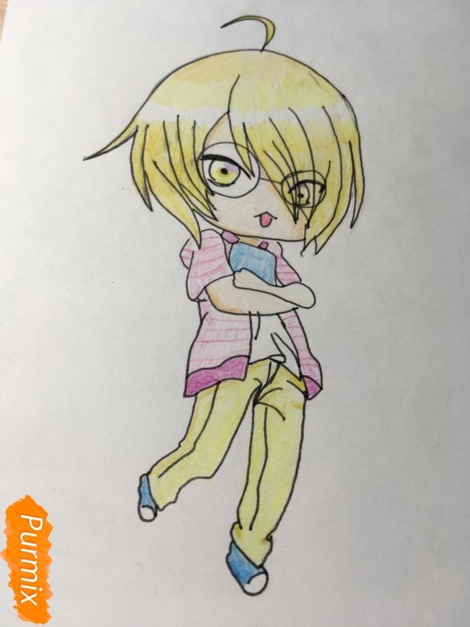 Рисуем чиби Изуми - фото 18
