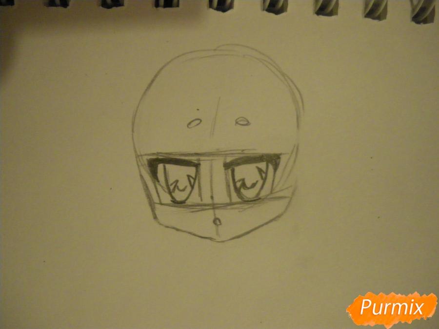 Рисуем сонную чиби девочку с подушками - фото 2