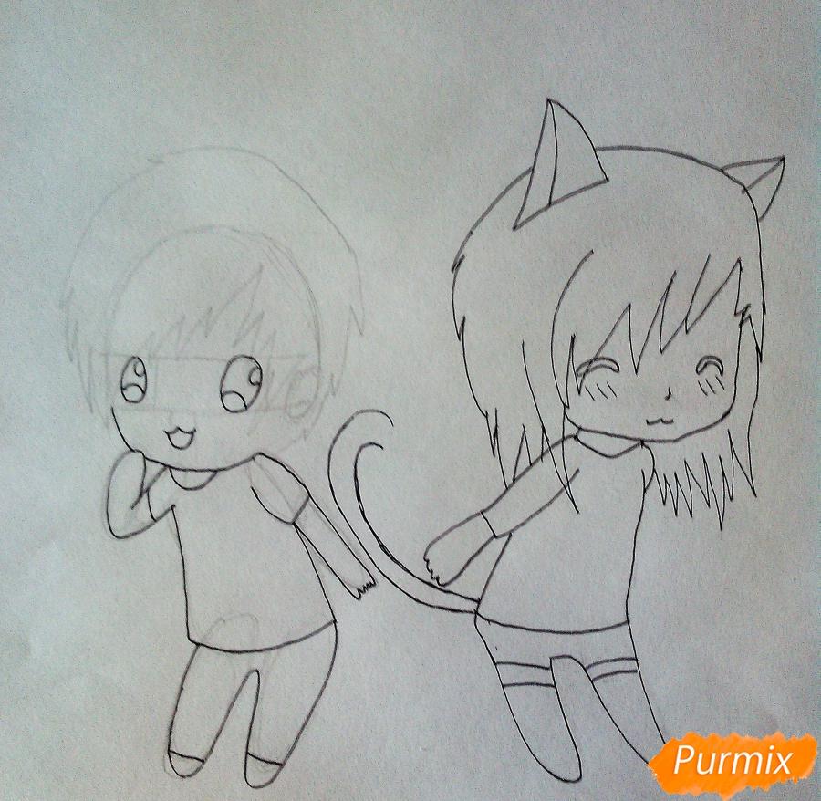 Как нарисовать пару своими руками фото 854