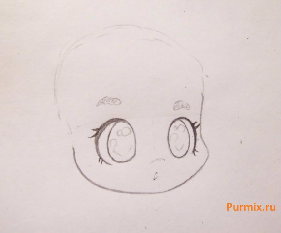 Рисуем ариэль в стиле чиби простым