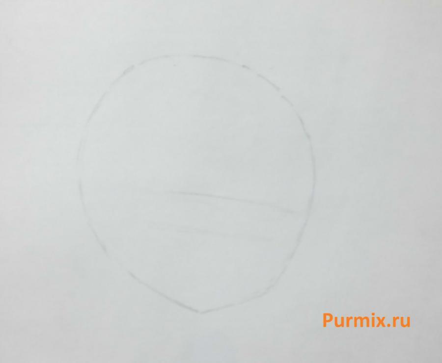 Как нарисовать бэтмена в стиле чиби простым карандашом