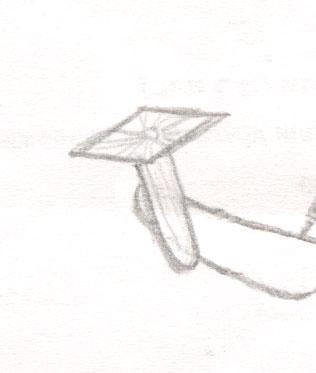 Рисуем чиби Финна из мультфильма Время приключений карандашами - шаг 7
