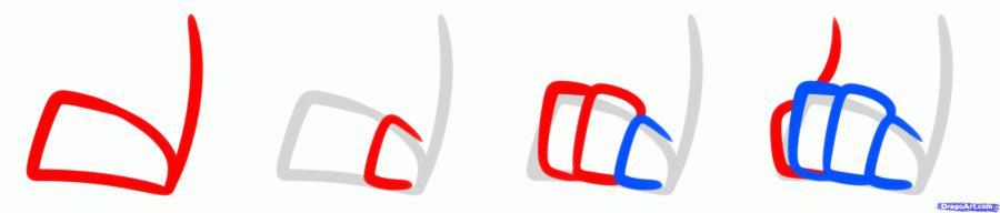 Как нарисовать чиби волка карандашом поэтапно