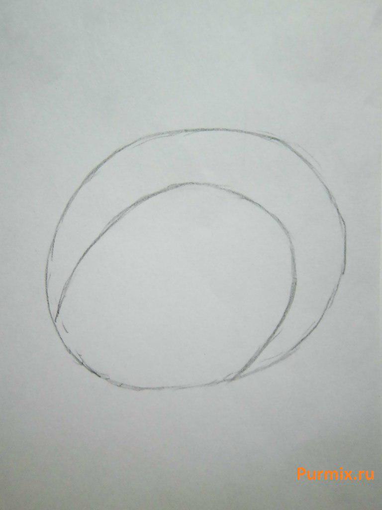 Как нарисовать фиону в стиле чиби из Время приключений простым карандашом
