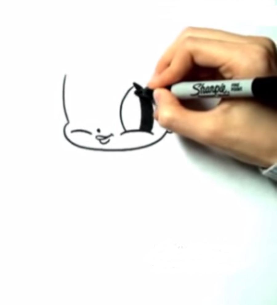 Рисуем Эльзу в стиле чиби - фото 1