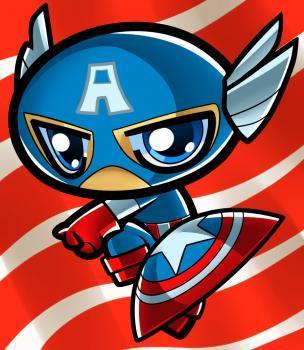 Как нарисовать Капитана Америку в ...: purmix.ru/urok/kak_narisovat_kapitana_ameriku_v_stile_chibi...