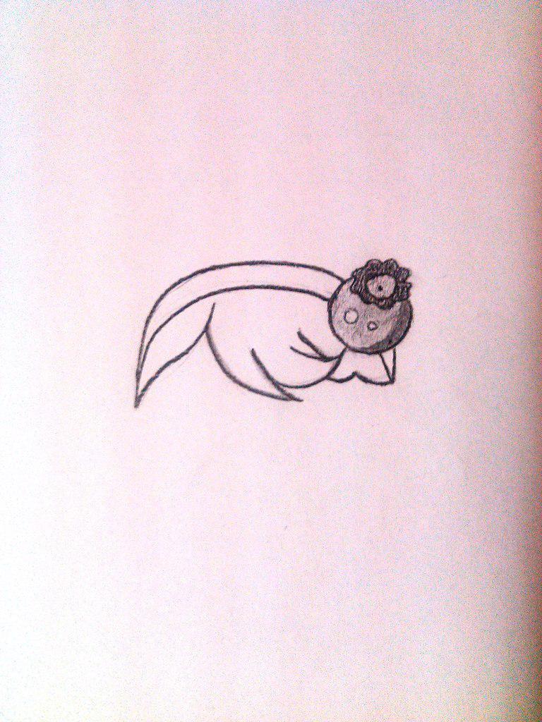 Как нарисовать маленькую девочку в стиле чиби сидящую на кексике
