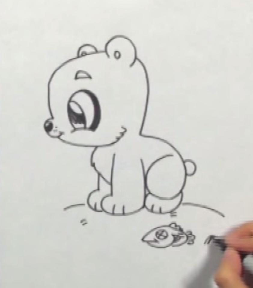 Как рисовать мишку тедди карандашом