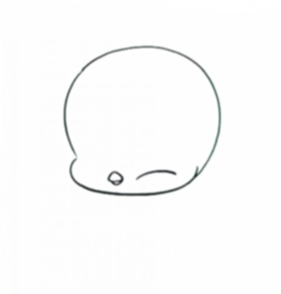 Как нарисовать пингвинчика в стиле чиби просты карандашом