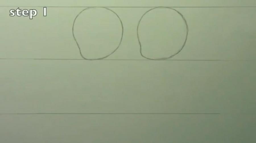 Рисуем чиби пару карандашами - фото 1