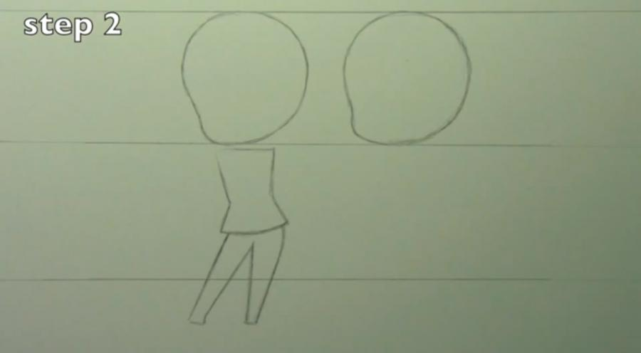 Рисуем чиби пару карандашами - фото 2