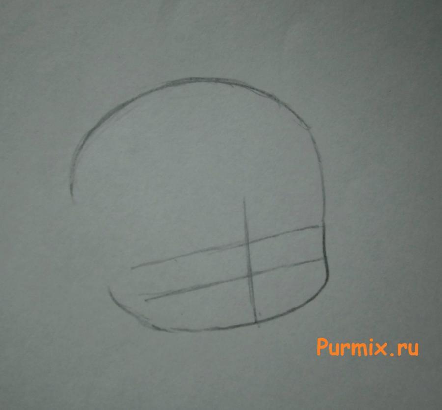 Рисуем звездного духа Овена в стиле чиби из Сказка о хвосте феи