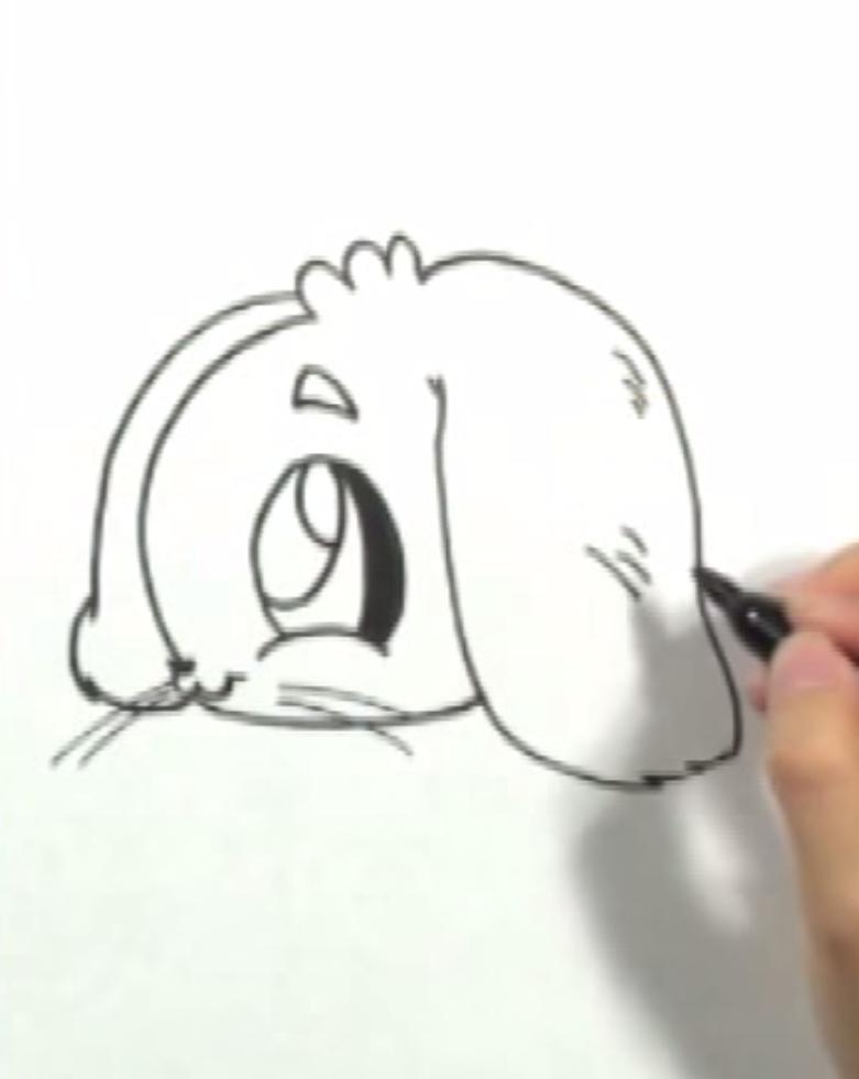 Как научиться рисовать кролика в стиле чиби простым - фото 2
