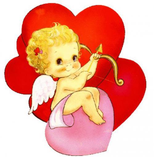 Как нарисовать Амура ко дню Св. Валентина цветными карандашами