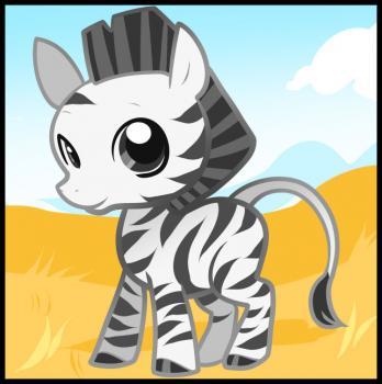 как рисовать зебру поэтапно
