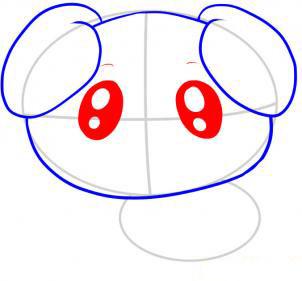 Рисуем собаку ребенку от 5 - фото 4