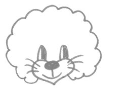 Рисуем львенка за 30 сек - шаг 5
