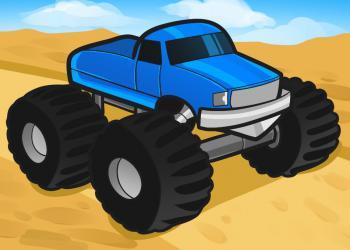 Рисуем автомобиль монстр трак