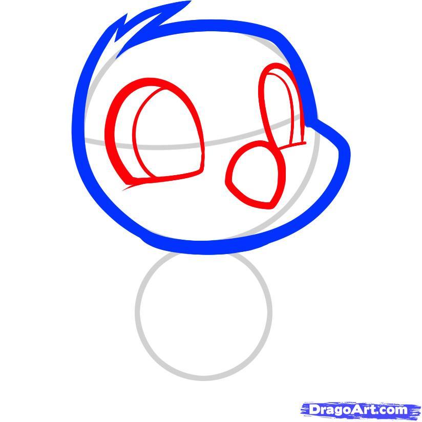 Рисуем цыпленка ребенку - фото 3