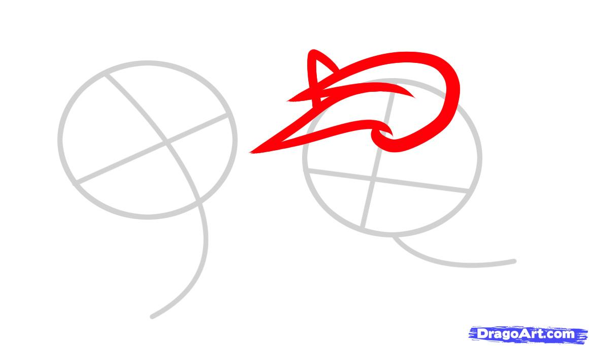 Рисуем двух маленьких лошадок - фото 2