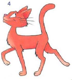 Как просто нарисовать кота - шаг 4