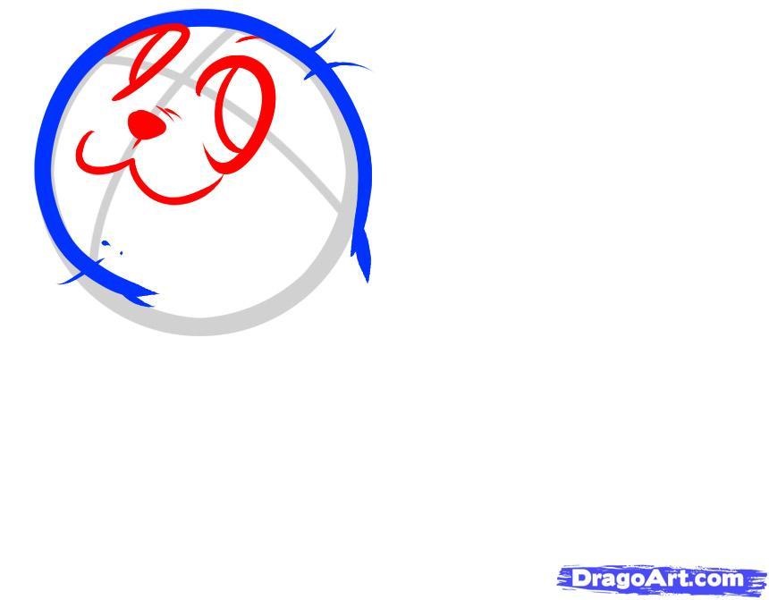 Рисуем маленького Моржа ребенку
