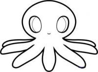 Фото осьминога ребенку