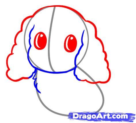 Как легко нарисовать щенка для детей от 6 лет - фото 3