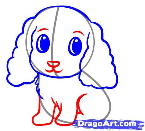 Видео: как легко нарисовать собаку для детей от 2 лет - шаг 4