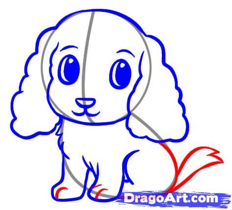 Как легко нарисовать щенка для детей от 6 лет - фото 5
