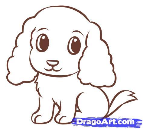 Как легко нарисовать щенка для детей от 6 лет - фото 6