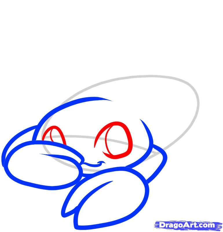 Рисуем Скорпиончика ребенку