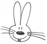 Рисунок зайчика за 10 секунд