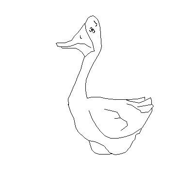 Как просто ребенку нарисовать гуся - фото 3