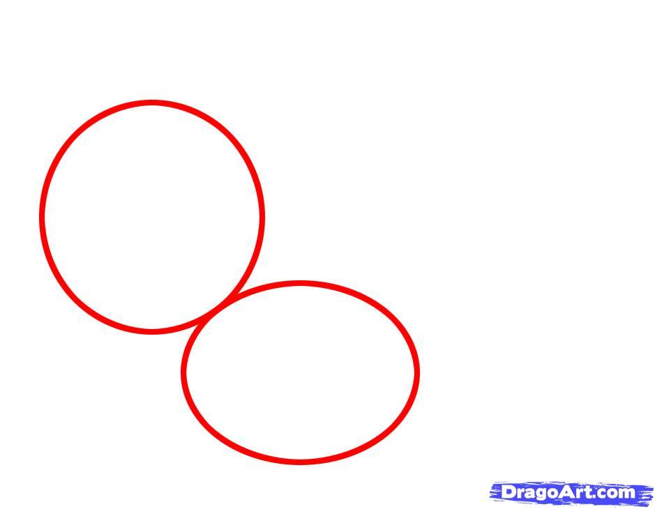Как просто нарисовать белочку с орехом ребенку карандашом поэтапно