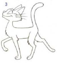 Как просто нарисовать кота карандашом