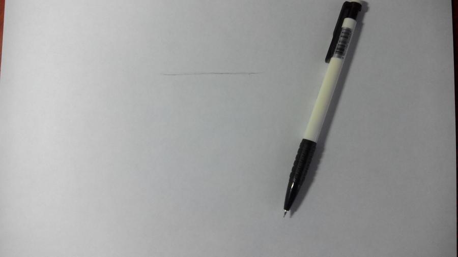 Рисуем и раскрашиваем лисичку в шарфике  детям (подробный урок) - шаг 1