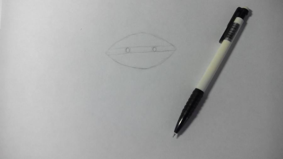 Рисуем и раскрашиваем лисичку в шарфике  детям (подробный урок) - шаг 3