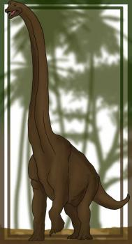 Как нарисовать динозавра Брахиозавра поэтапно