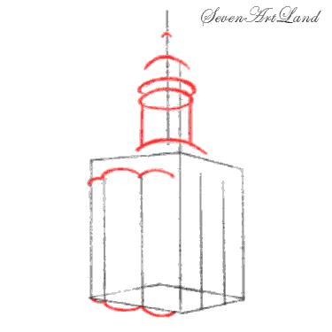 Рисуем Церковь Покрова на Нерли